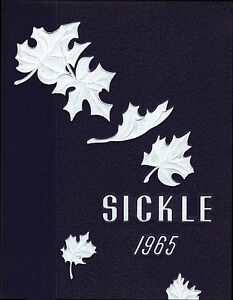 ADRIAN SENIOR HIGH SCHOOL 1965 SICKLE YEARBOOK Michigan, U.S.A.