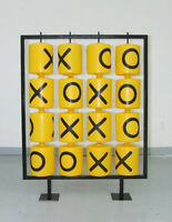 tic-tac-toe playground sculpture