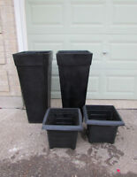 large outdoor urns