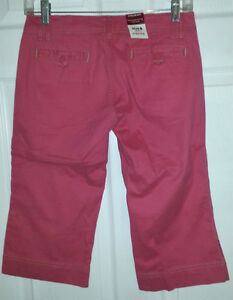 OLD NAVY Pink Stretch Capris Pants - Size 0 - NEW Gatineau Ottawa / Gatineau Area image 2