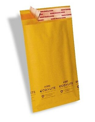 500 000 4x8 X-wide Ecolite Usa Kraft Bubble Mailers Envelopes Theboxery