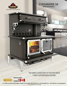 Canada's ONLY EPA High Efficiency CSA Certified Wood Cookstove London Ontario image 4