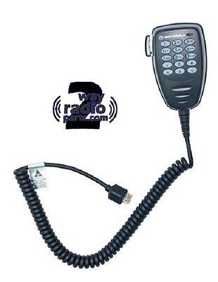 Motorola Mototrbo Cm200d Cm300d Xpr2500 Enhanced Dtmf Keypad Microphone Vhf Uhf