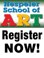 SPRING CLASSES - MARCH/APRIL 2017: HESPELER SCHOOL OF ART