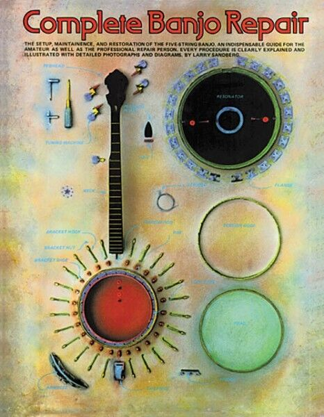 Complete Banjo Repair - Book NEW 014007270