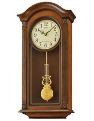 Seiko Wood Wall Clock QXH066BLH
