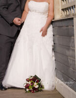 Callista wedding dress (Size 18)