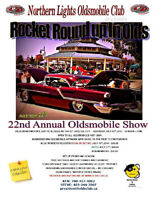 OLDSMOBILE SHOW IN OLDS, AB. JULY 18