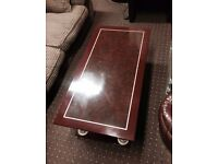 Lovely Design Coffee Table with Shelf Good Quality Very Sturdy Can Deliver