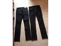 New Ghost ladies jeans size 8 x 3