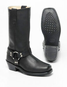 Open Sunday Mens Harness Boots with zipper at the altimateoutlet