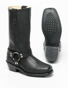 Mens Harness Boots with zipper at the altimateoutlet