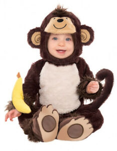 Costume de singe pour bébé (12 à 24 mois), en parfait état!!!