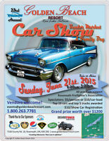Vendors Wanted for 23rd Annual Golden Beach Resort Car Show