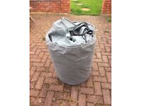 Waterproof Breathable 20ft Caravan Cover with Storage Bag Good Condition Can Deliver