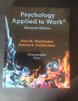 Psychology Applied to Work- 11th Edition