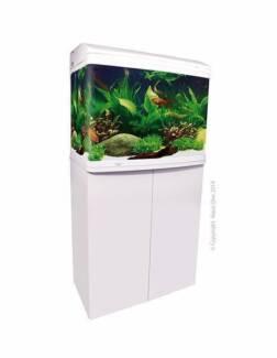 Aqua One 620 White 90L Aquarium Package SAVE $$$ BRAND NEW
