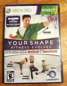 "BRAND NEW/ SEALED KINECT ""YOUR SHAPE"" - XBOX 360/ KINECT GAME"
