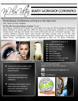 World Workshop Beauty Conference Tour
