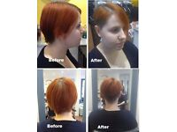 EUROPEAN Hair models for blow-dry £5, haircut from £10, colouring from £14, highlighting from £15