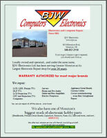 BJW Electronics, Electronics and Computer Repair since 1981