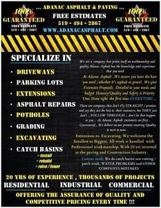 ADANAC ASPHALT & PAVING..... RESIDENTIAL DRIVEWAYS/COMMERCIAL. London Ontario image 2