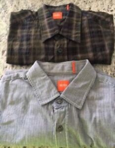 Lot of two Hugo Boss Men Shirt size L