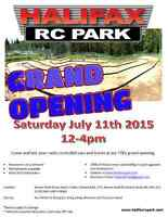 Halifax Radio Control Park (HRCP) Grand Opening 12:00 11th July