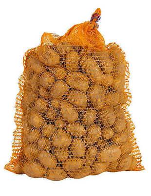 100 St. Kartoffelsäcke Raschelsäcke Holzsäcke 10 Kg Gemüsesäcke ohne Zugband