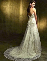 Lace wedding dress - Size 10