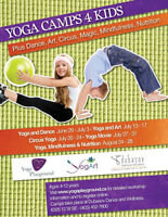 Yoga Camps for Kids this Summer
