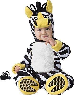 ramuster Tier Haustier Zoo Kleinkinder Baby Halloween Kostüm (Zebra Halloween-kostüm Kind)
