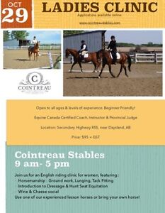 Ladies Clinic - Learn to Ride!