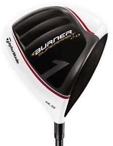 RH TAYLORMADE BURNER SUPERFAST 2.0 DRIVER 9.5º REGULAR FLEX NEW