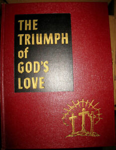 THE TRIUMPH OF GOD's LOVE, Hard Cover, Red&black Edition