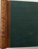 AUDEL'S ANSWERS ON PRACTICAL ENGINEERING, First Edition, 1912 !!