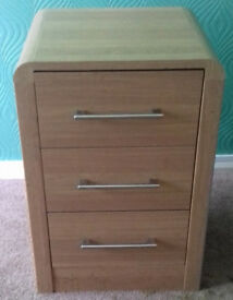 Bedside Table Cabinet Drawers