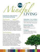 Mindful Living, An 8 week course for Stress Reduction