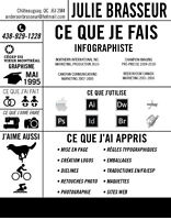INFOGRAPHISTE DE PRODUCTION POUR IMPRIMERIE