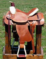 BRAND NEW RANCH/ROPING SADDLE -- SALE $950 !!! More Available