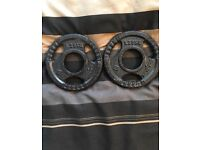 2x1.25kg Fractional Weight Plates