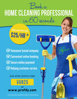 Any CLEANING service (Home and Office), only $25 ph! (Lower Main