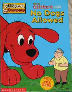 Clifford - No Dogs Allowed Book