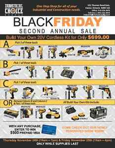 BLACK FRIDAY TOOL SALE - DEWALT - MILWAUKEE - MAKITA Sarnia Sarnia Area image 1