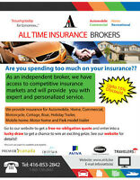 Auto, Home, Trailer, Motor cycle, Commercial Insurance