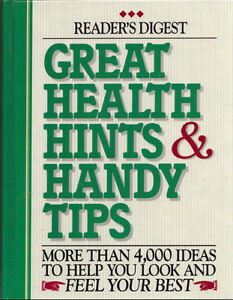 Reader's Digest Great Health Hints & Handy Tips West Island Greater Montréal image 1