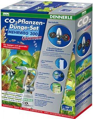 2 Pflanzen (Dennerle CO2 Pflanzen-Dünge-Set Mehrweg 300 Quantum)