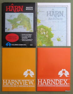 Buying: Harn and other RPG books and collections