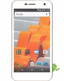 "WileyFox Spark 5"" 4G Unlocked & SIM Free Smartphone - White"