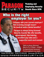 Paragon Security NOW HIRING! Security Training Available